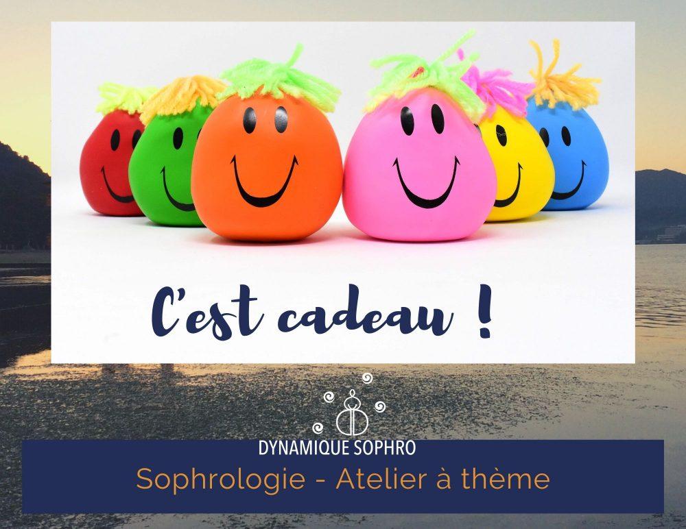 Atelier à thème - Le bon cadeau ! Dynamique Sophro -Sophrologie Nantes
